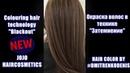 Окраска волос в техникеЗАТЕМНЕНИЕ №6 (Сolouring hair technology Blackout)