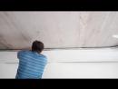 Натягивание полотна нижнего и верхнего уровня 3 ч.