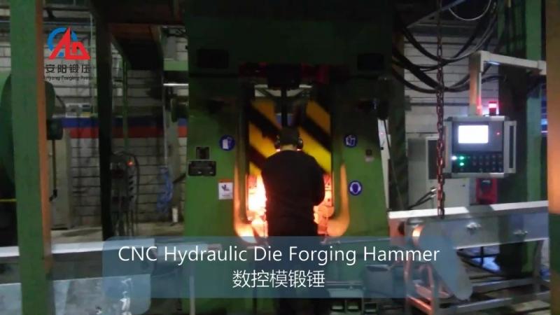 C92K-31.5KJ CNC hammer production line exported to Turkey
