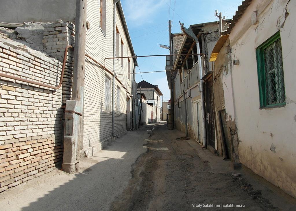 Жилой район Бухары, Узбекистан 2019