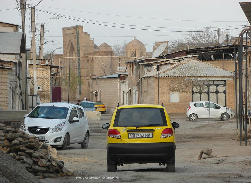 Обзор улицы, Узбекистан, Бухара 2019