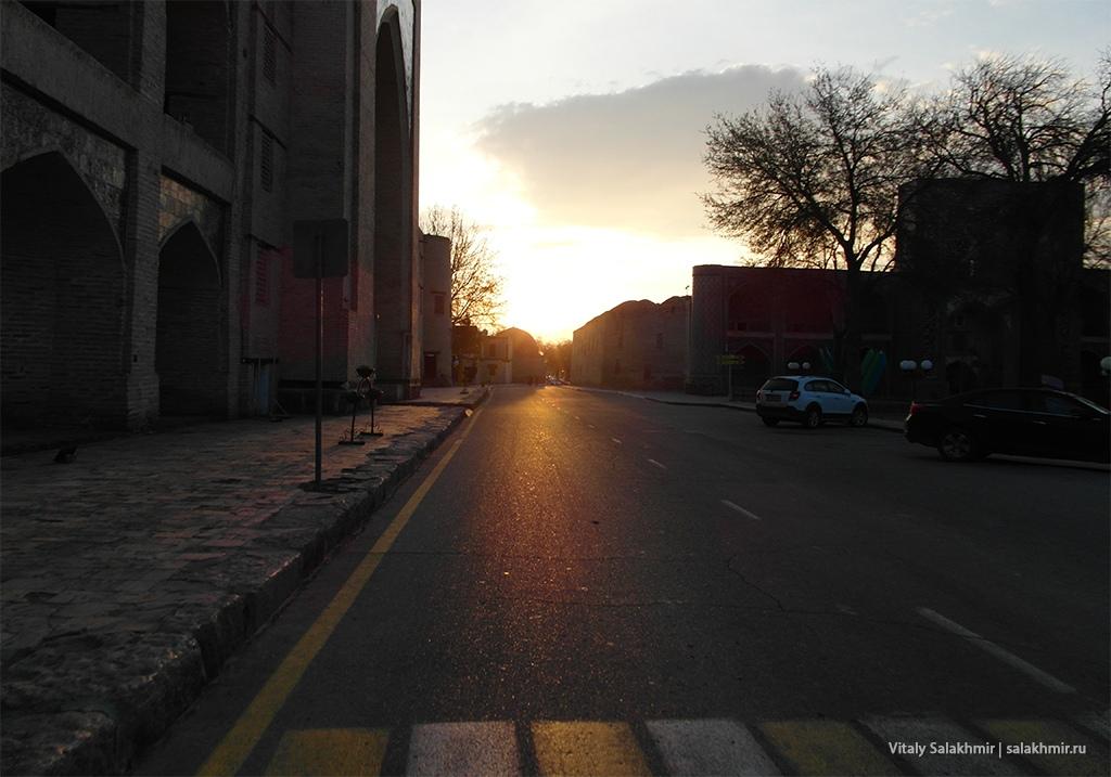 Рассвет в Бухаре, Узбекистан 2019