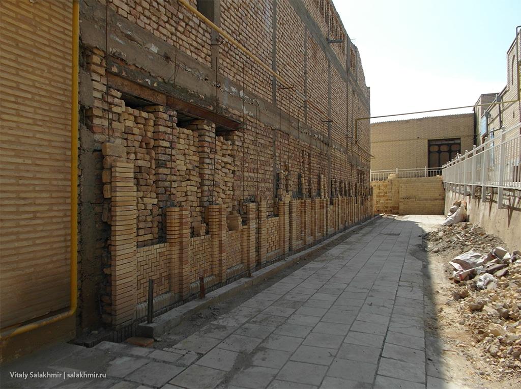 Строительство внутри Бухары, Узбекистан 2019