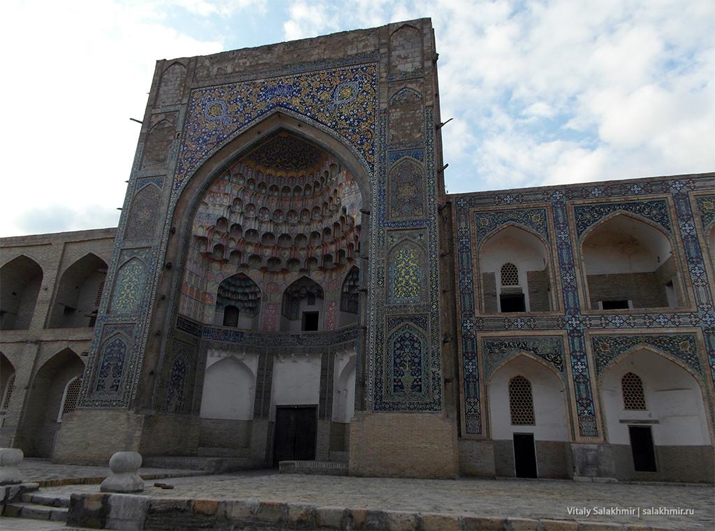 Красивые здания Бухары, Узбекистан 2019