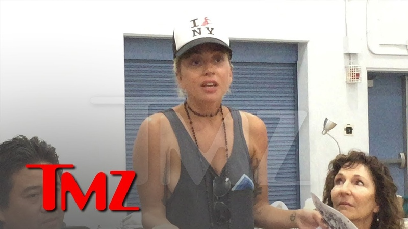 Lady Gaga Volunteers at Red Cross Shelter, 'Let's Keep the Faith' | TMZ