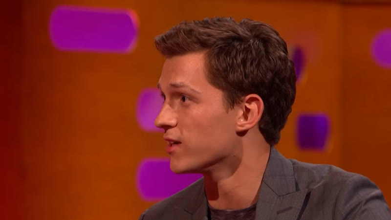 Tom Hanks Teaches Tom Holland How To Act - The Graham Norton Show