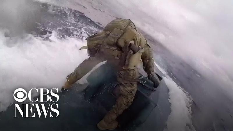 Береговая охрана США остановила подлодку с 7 тоннами кокаина CINELUX