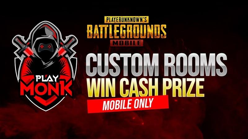 PUBG Mobile Tamil Playmonk Cash Prize Custom room