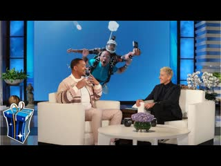 Will Smith Persuaded Wife Jada to Go Skydiving for His 50th Birthday – Extended Cut