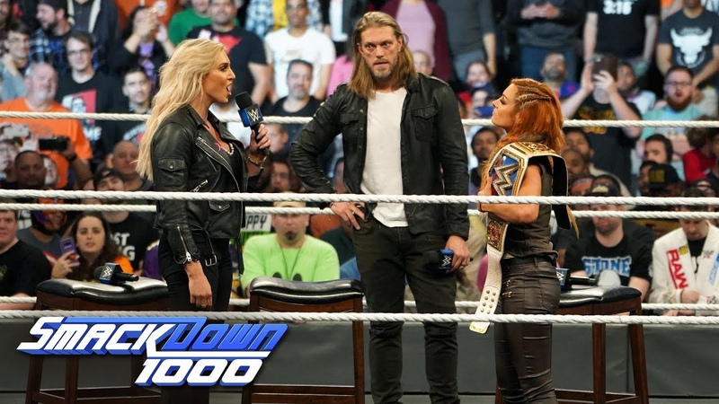 Charlotte Flair attacks Becky Lynch on The Cutting Edge: SmackDown 1000, Oct. 16, 2018