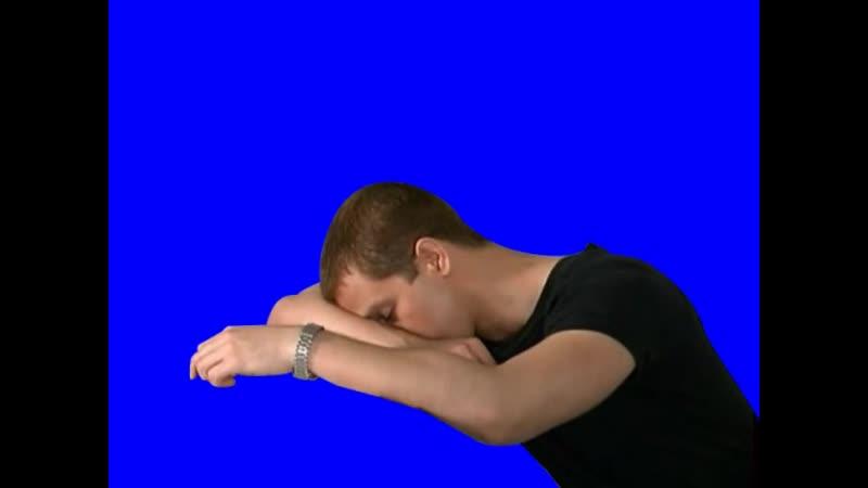[Gachimuchi] Duncan Mills awoke on blue screen (Дункан Миллс проснулся на синем экране)
