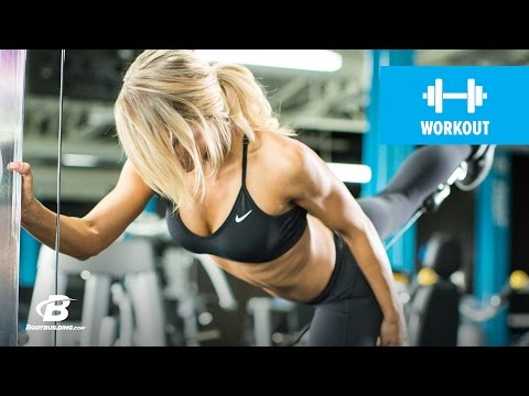 Picture-Perfect Glutes And Ab Workout | Danielle Belanger