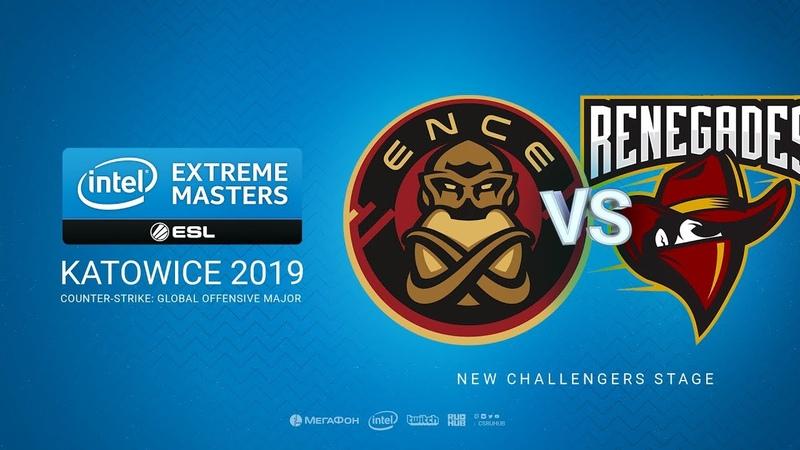 ENCE vs Renegades - IEM Season XIII - Katowice Major 2019 - map2 - de_mirage [TheCraggy Gromjkeee]