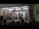 Выступление 5-го класса на концерте ко Дню учителя