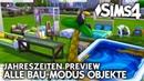 Alle Kauf Bau Modus Objekte Debug Die Sims 4 Jahreszeiten PREVIEW GAMEPLAY 2 5