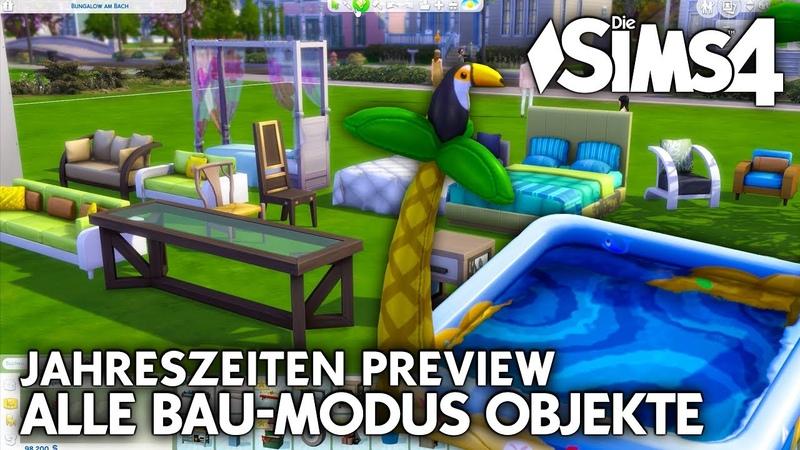 Alle Kauf Bau-Modus Objekte Debug | Die Sims 4 Jahreszeiten PREVIEW GAMEPLAY (25)