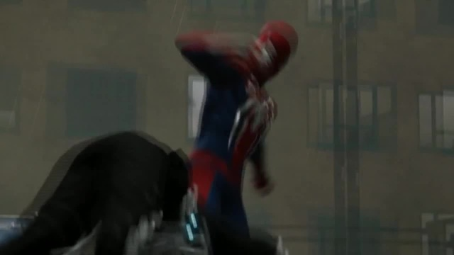 Spider-Man's mortal kicks