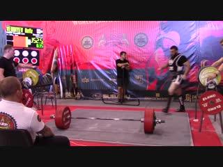 Verdiyev Hafiz становая тяга 352,5 кг