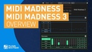 MIDI Madness 3 | Generate MIDI Melodies, Chord Progressions Bass lines Plugin