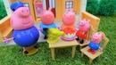 Peppa Pig e George nella fattoria di nonno. Giochi per bambini