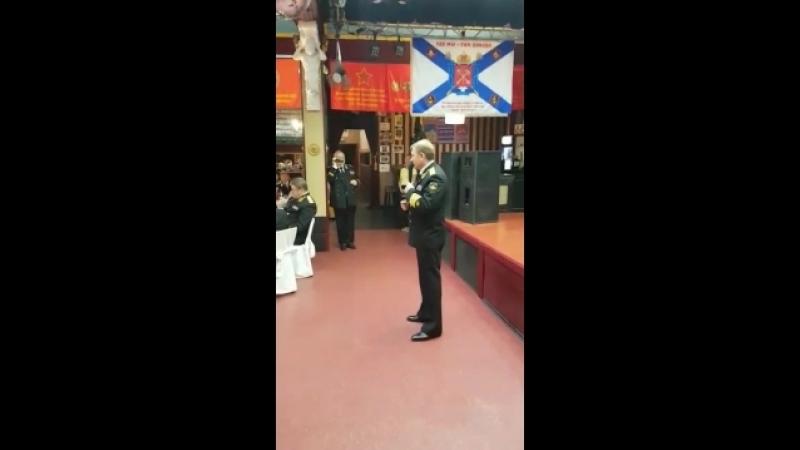 Выступление главнокомандующего ВМФ России 2012 2016 Чиркова Виктора Викторовича