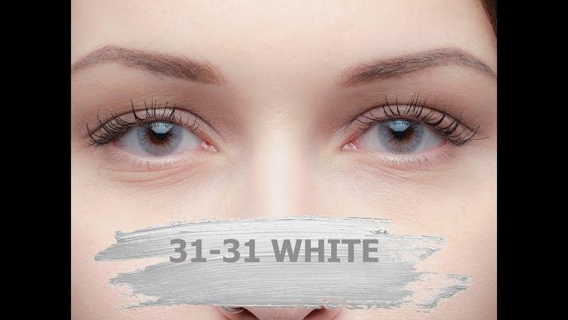 Натуральные серые линзы 31-31 White Lensmam (Корея)