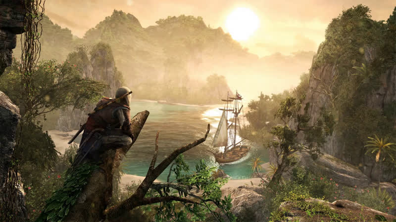 Assassin's Creed IV Black Flag DLC Авелина