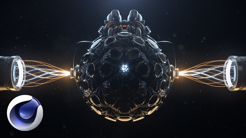 Разбор эффектной Sci-fi cцены в Cinema 4D