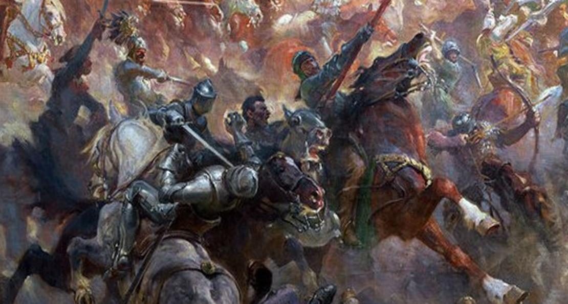 Битва кавалерии