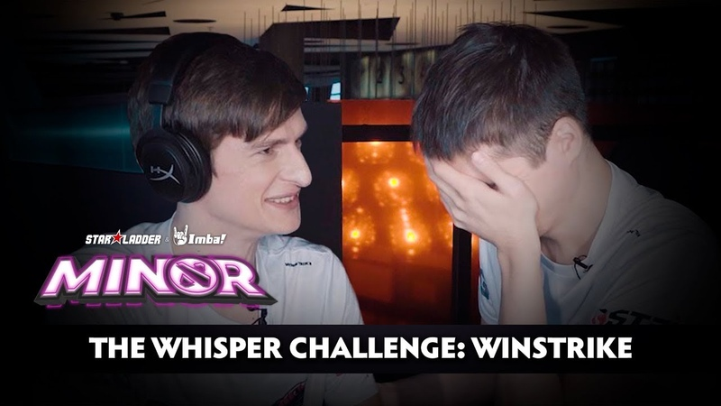 The Whisper Challenge Winstrike | StarLadder ImbaTV Dota 2 Minor S2