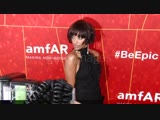 Kat Graham at the amfAR Gala Los Angeles 2018