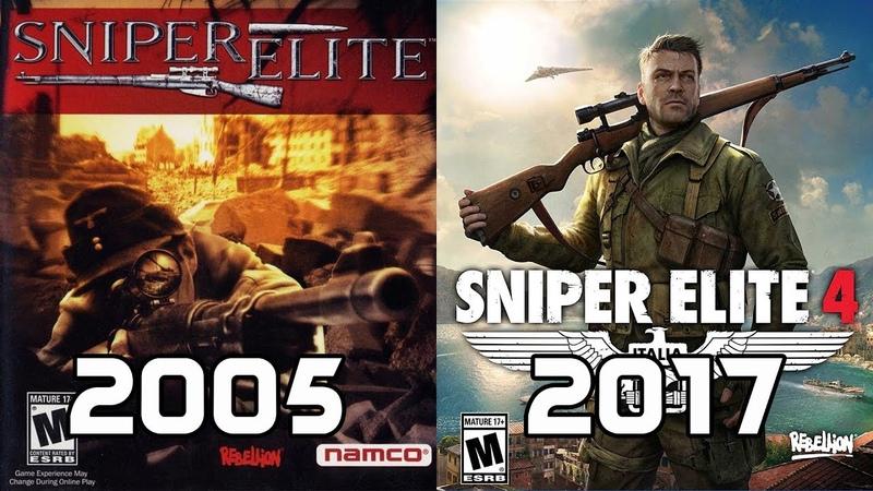 Evolution of Sniper Elite Games 2005-2017