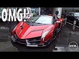 ПОДПИШИСЬ! Lamborghini Veneno Roadster 4 Million $! SPACESHIP SUPERCAR!