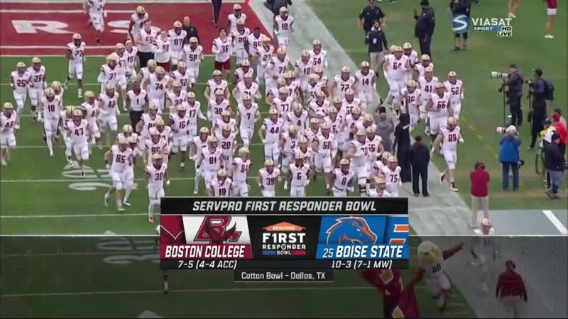 NCAAF 2018 19 F1rst Responder Bowl Boston College Eagles Boise State Broncos 25 RU EN Viasat Sport HD