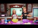 Печём кексы с Барби и Кеном Barbie Vlog Episode 55 Влог Барби 55 Русские субтитры