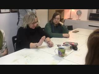Мастер-класс Ирины Качаравы в Клубе-студии