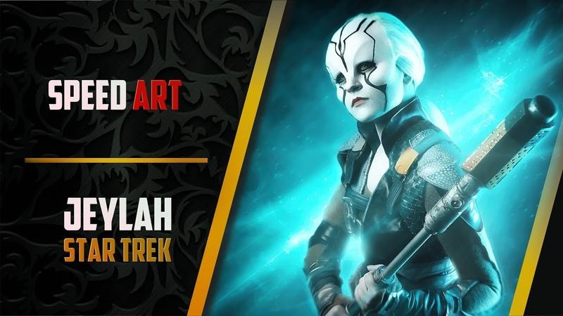 Speed Art | Jeylah | Star Trek Beyond | Обработка фото №35