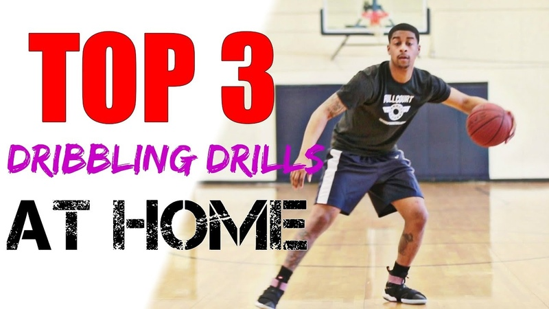 HOW TO IMPROVE DRIBBLING - BASKETBALL DRILLS AT HOME