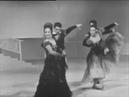 Испанский танец из балета Лебединое озеро . Агнесса Балиева (справа). Большой театр. 1972 год.