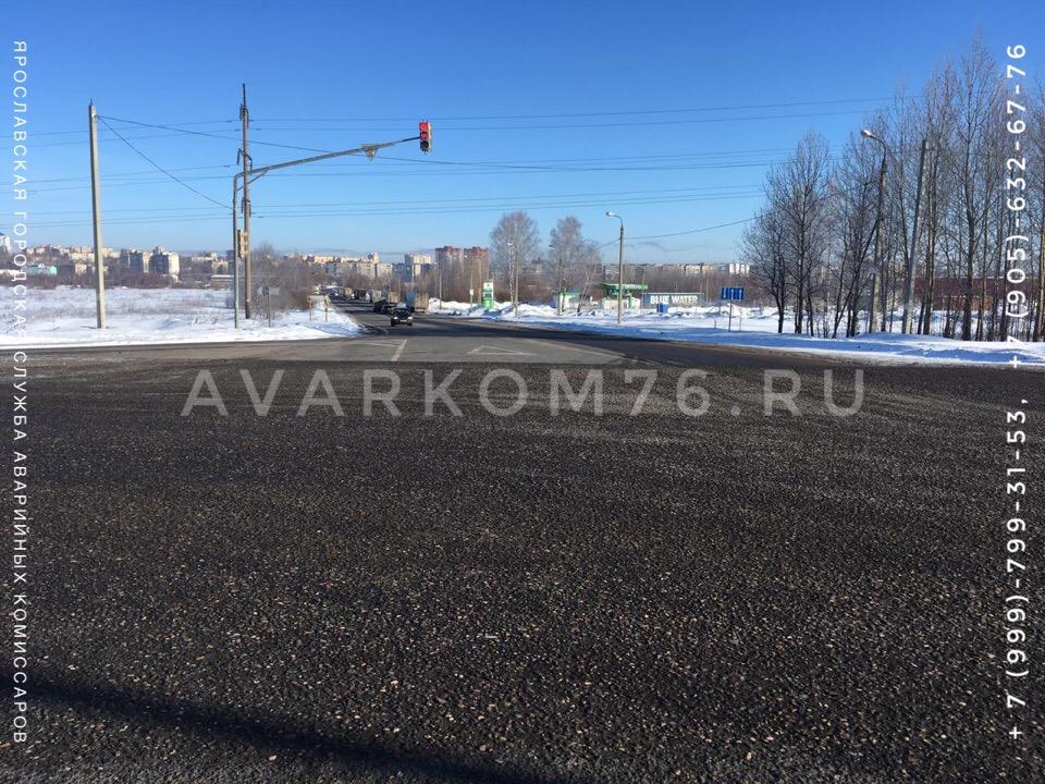 В субботу утром на пересечении Костромского шоссе и ул