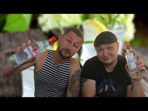 Джин | BeefEater vs White Lace | БУХ-ОБЗОР