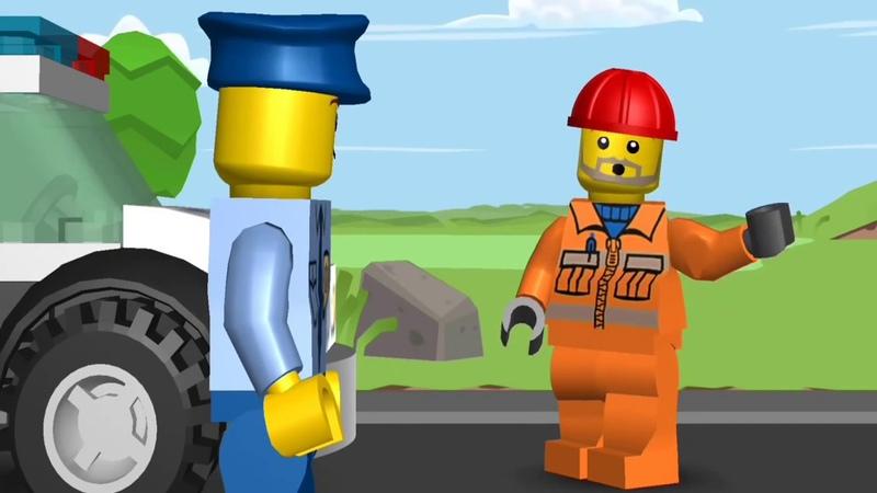 👍 LEGO JUNIORS Мультики про машинки ЛЕГО мультики Супер полицейский
