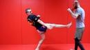 ФронтКик Удар в Корпус Мая. Удар Прямой ногой в Корпус в Кикбоксинге Тайском Боксе