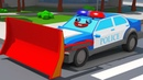 Мультики про машинки - Полицейская машина ГОНКИ в ГОРОДЕ - Новые Мультфильмы для детей