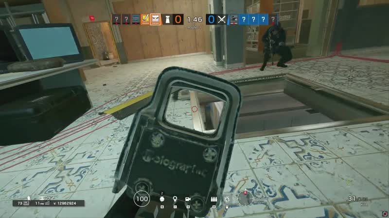 2000 IQ play, иллюзия — 100, скрытность — 100 (Tom Clancy's Rainbow Six Siege)
