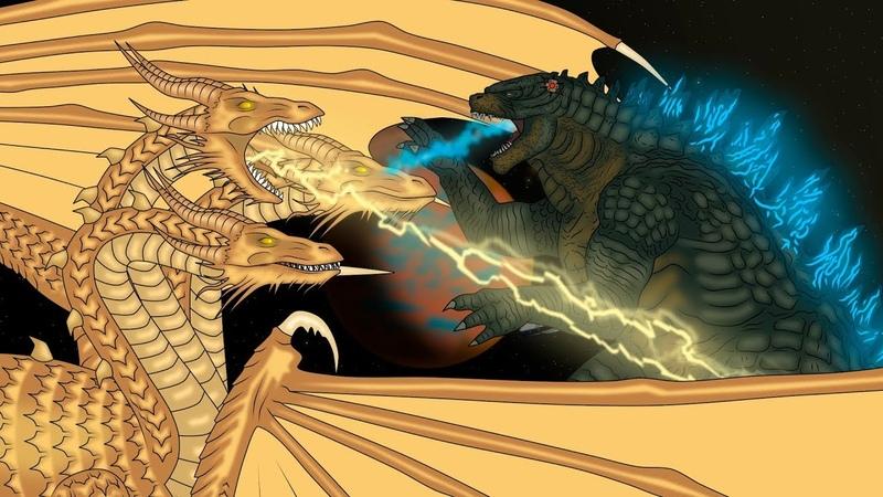 Кинг Конг против Годзиллы 9 - Кинг Гидора / King Kong vs. Godzilla - King Ghidorah