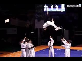 South korean taekwondo team