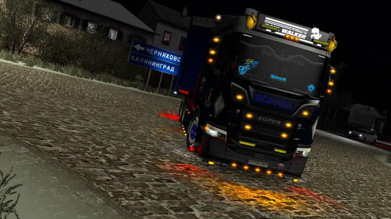 ( Pro_Mods_Rus ) Scania R730 NextGen V8 Power