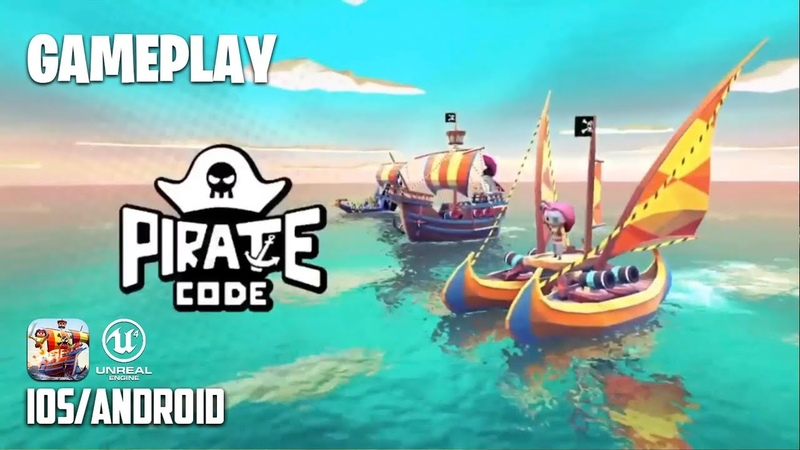 PIRATE CODE - iOS / Android - FIRST GAMEPLAY