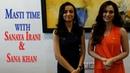 Watch off-screen bond of Sana Khan Sanaya Irani